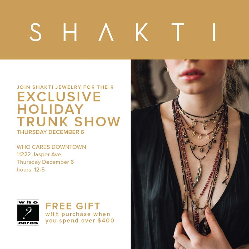 Holiday Trunk Show - Who Cares Downtown
