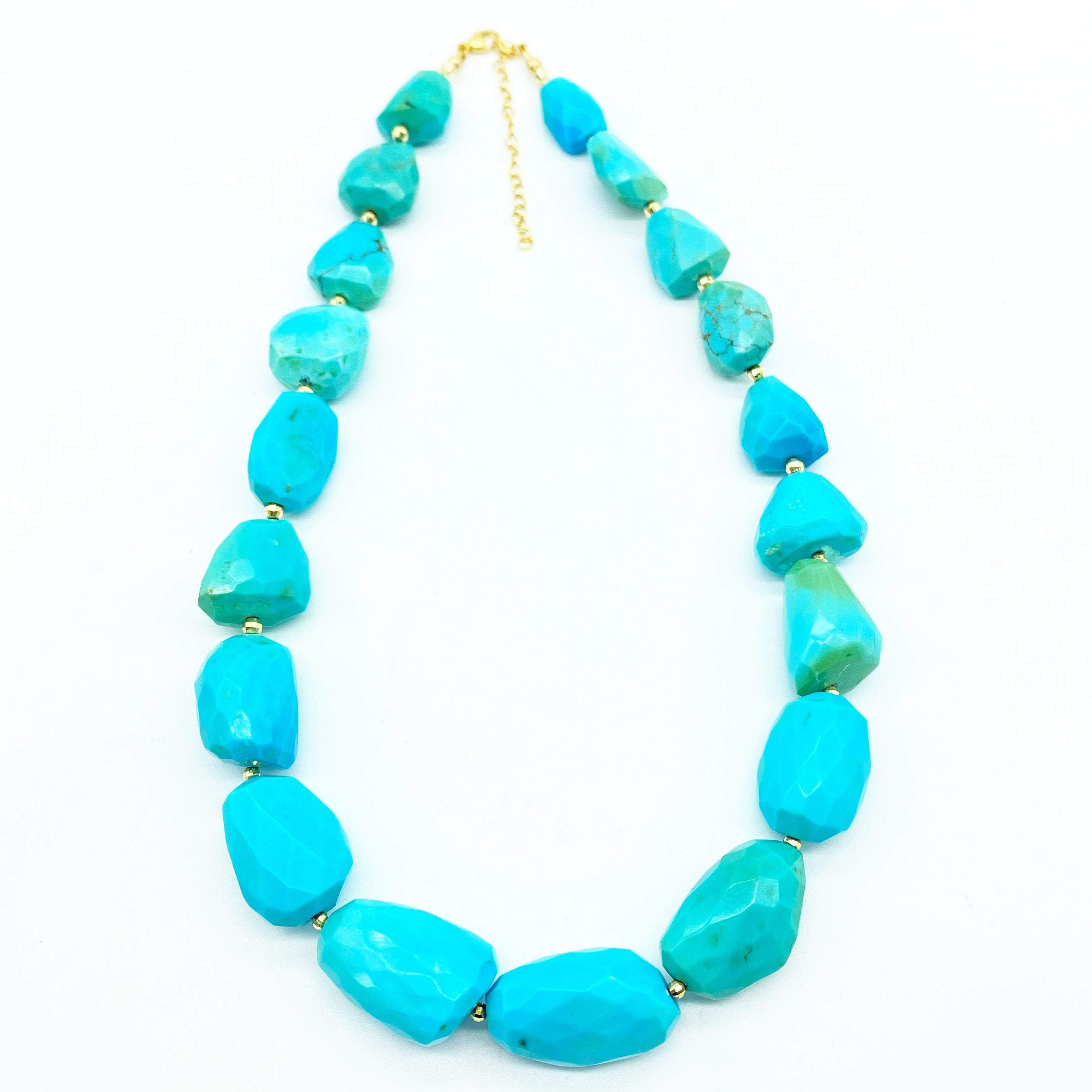 ONE OF A KIND SLEEPING BEAUTY TURQUOISE NECKLACE