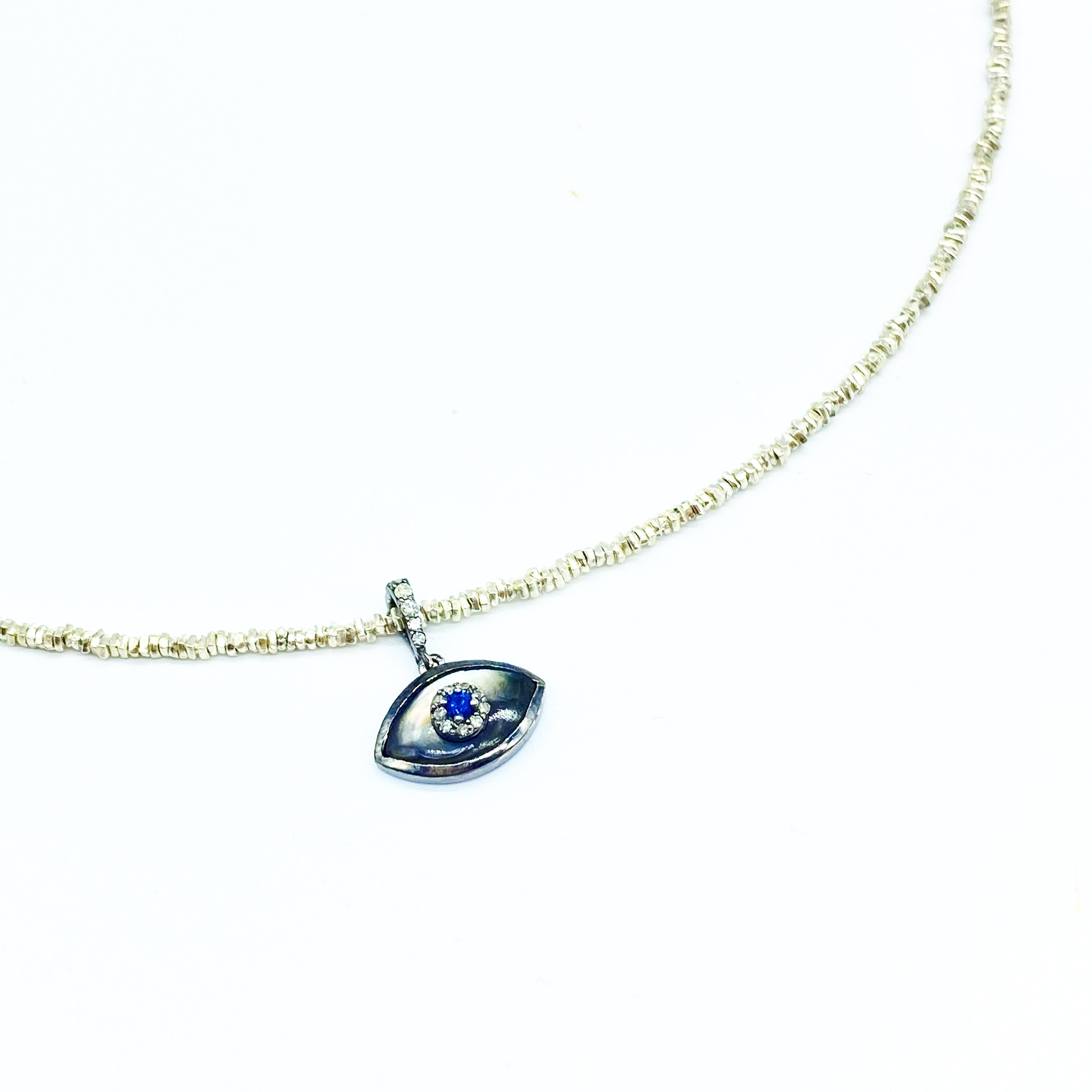 EVIL EYE PROTECTION TALISMAN NECKLACE