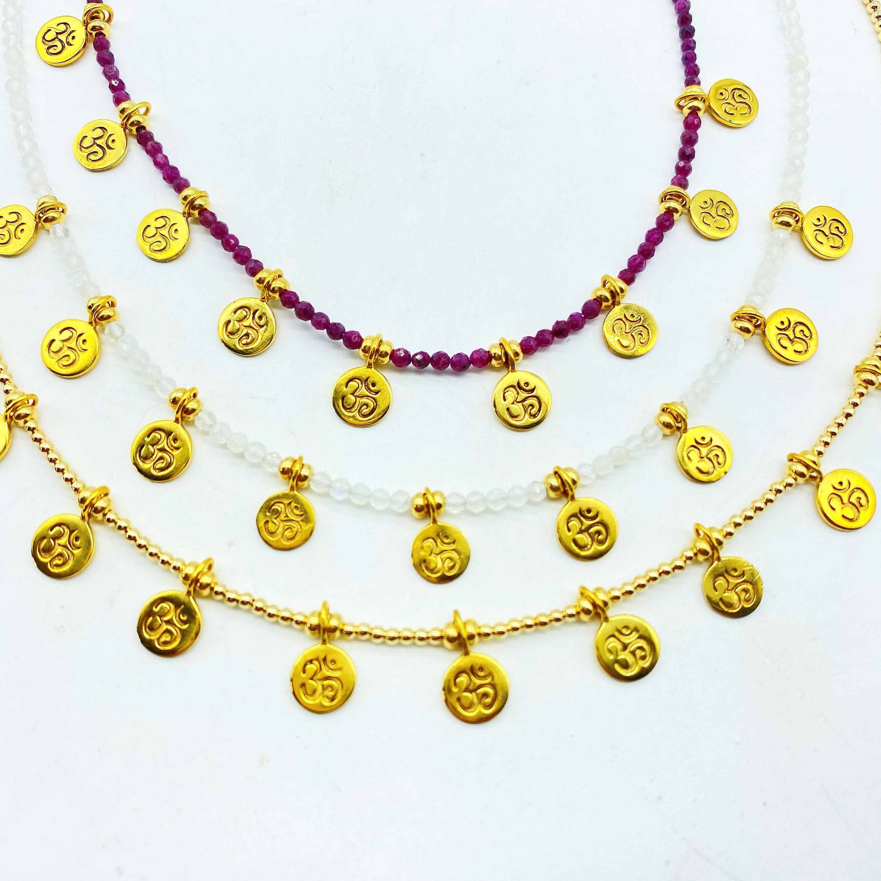 OM MANTRA NECKLACE