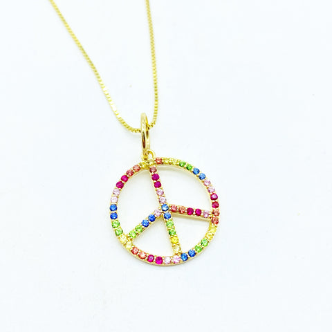 RAINBOW PEACE AMULET