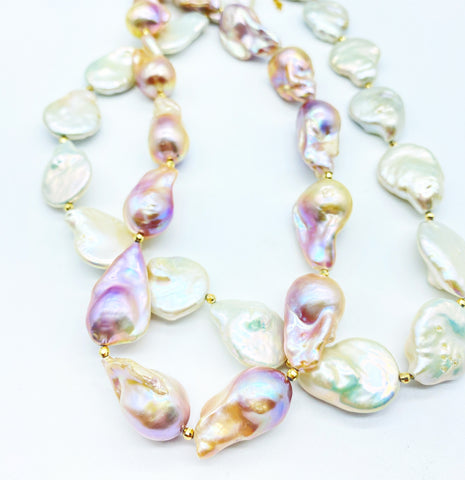 LEARGE BAROQUE FRESH WATER PEARLS