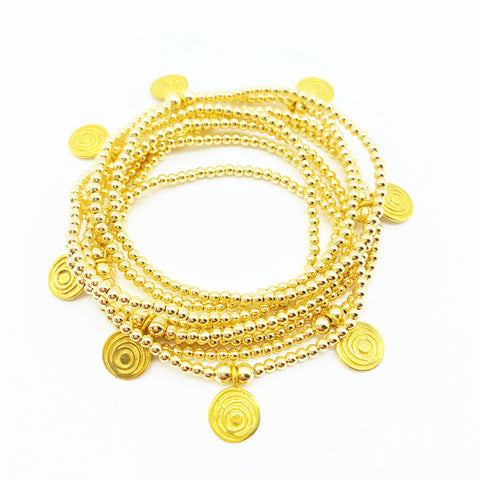 THE AWAKENED GOLD BRACELETS