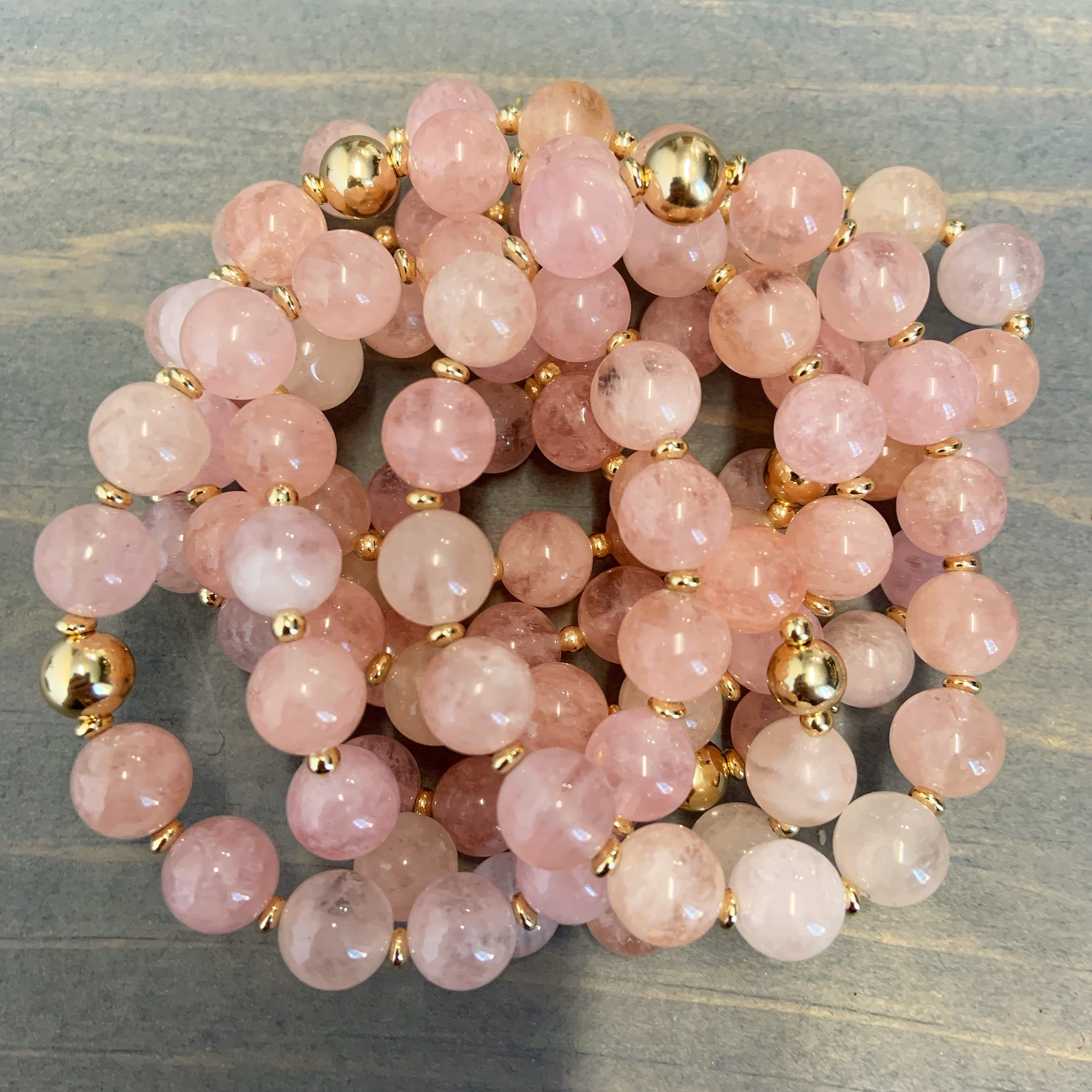 MORGANITE GEMSTONE BRACELET *GIFT WITH PURCHASE*