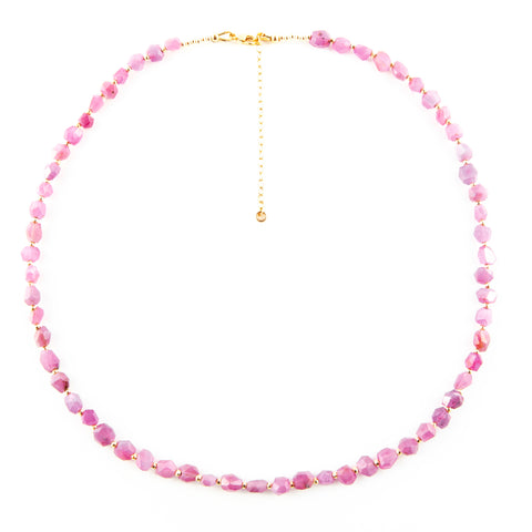 LIFE FORCE RUBY NECKLACE