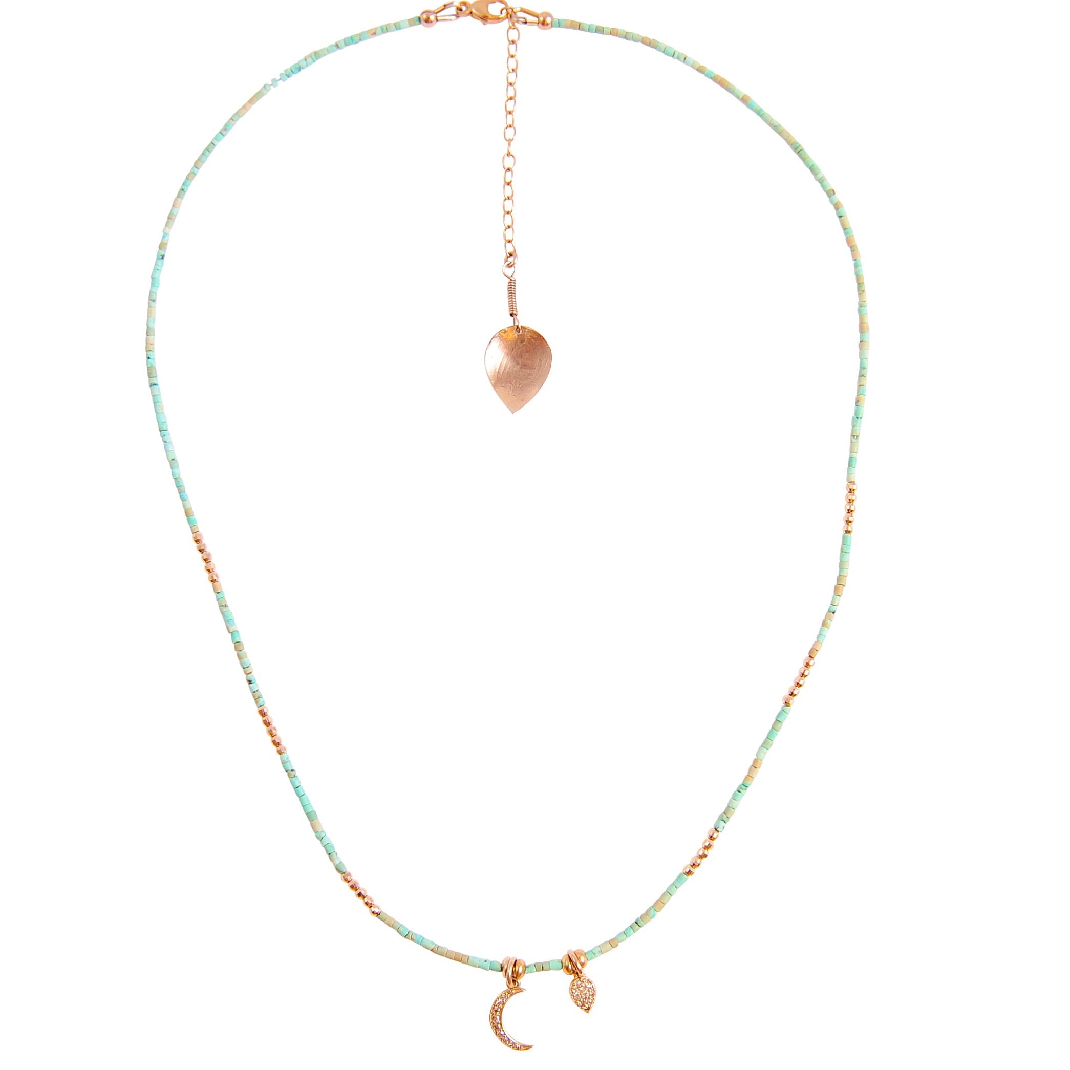 TULUM TURQUOISE CHARM NECKLACE COLLECTION