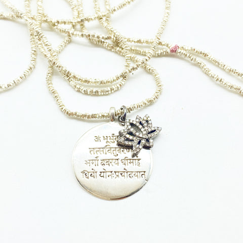 WISDOM MANTRA NECKLACE