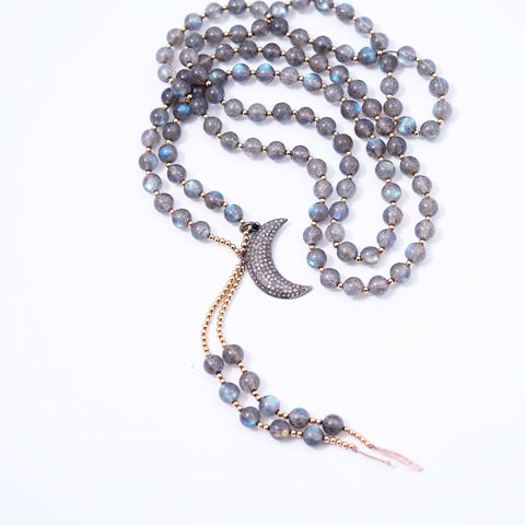LABRADORITE PROTECTION MALA