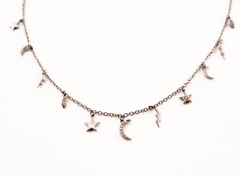 THE COSMOS CHARM NECKLACE