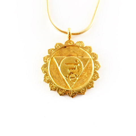 VISHUDDHA (5th, THROAT CHAKRA) PENDANT