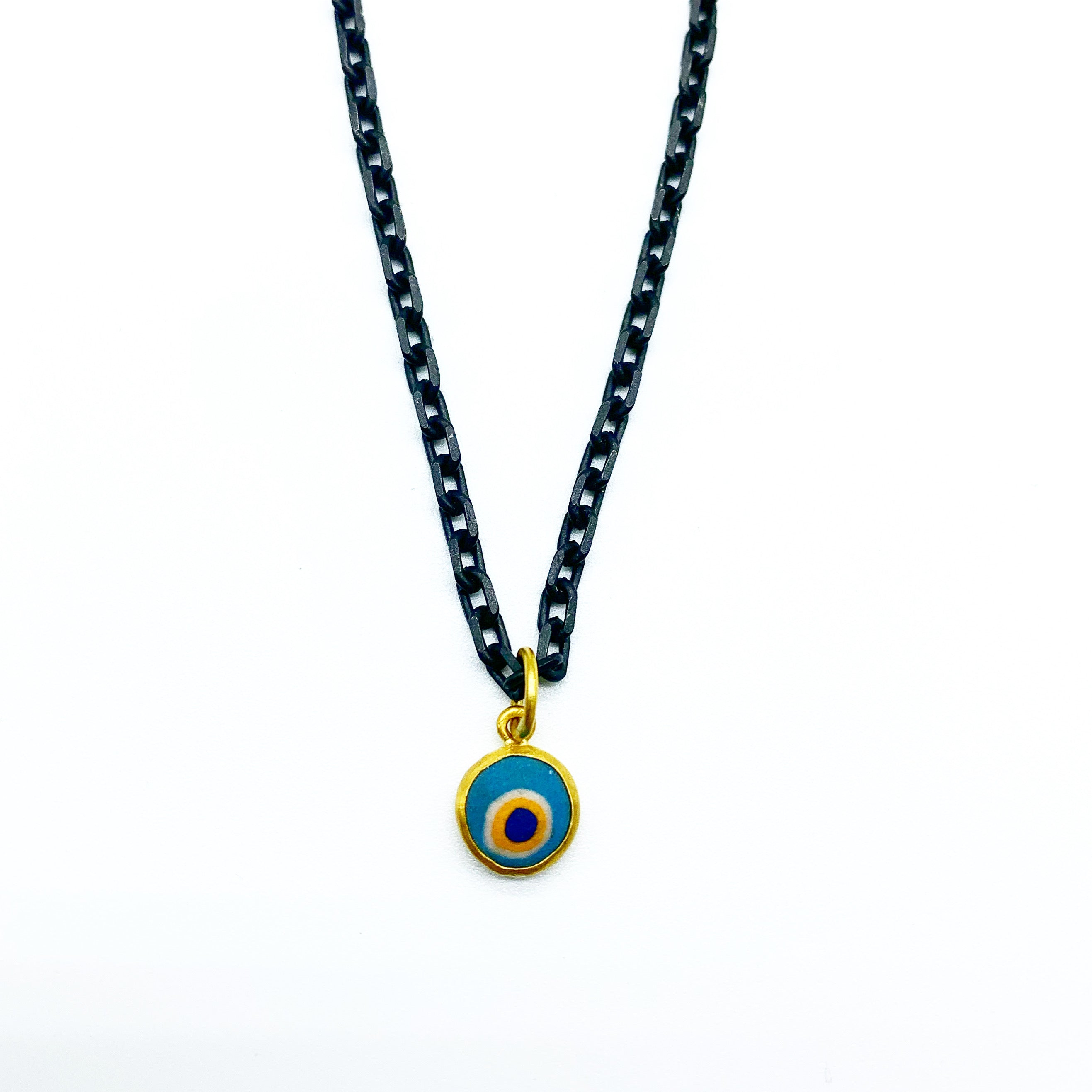 MEN'S EVIL EYE AMULET