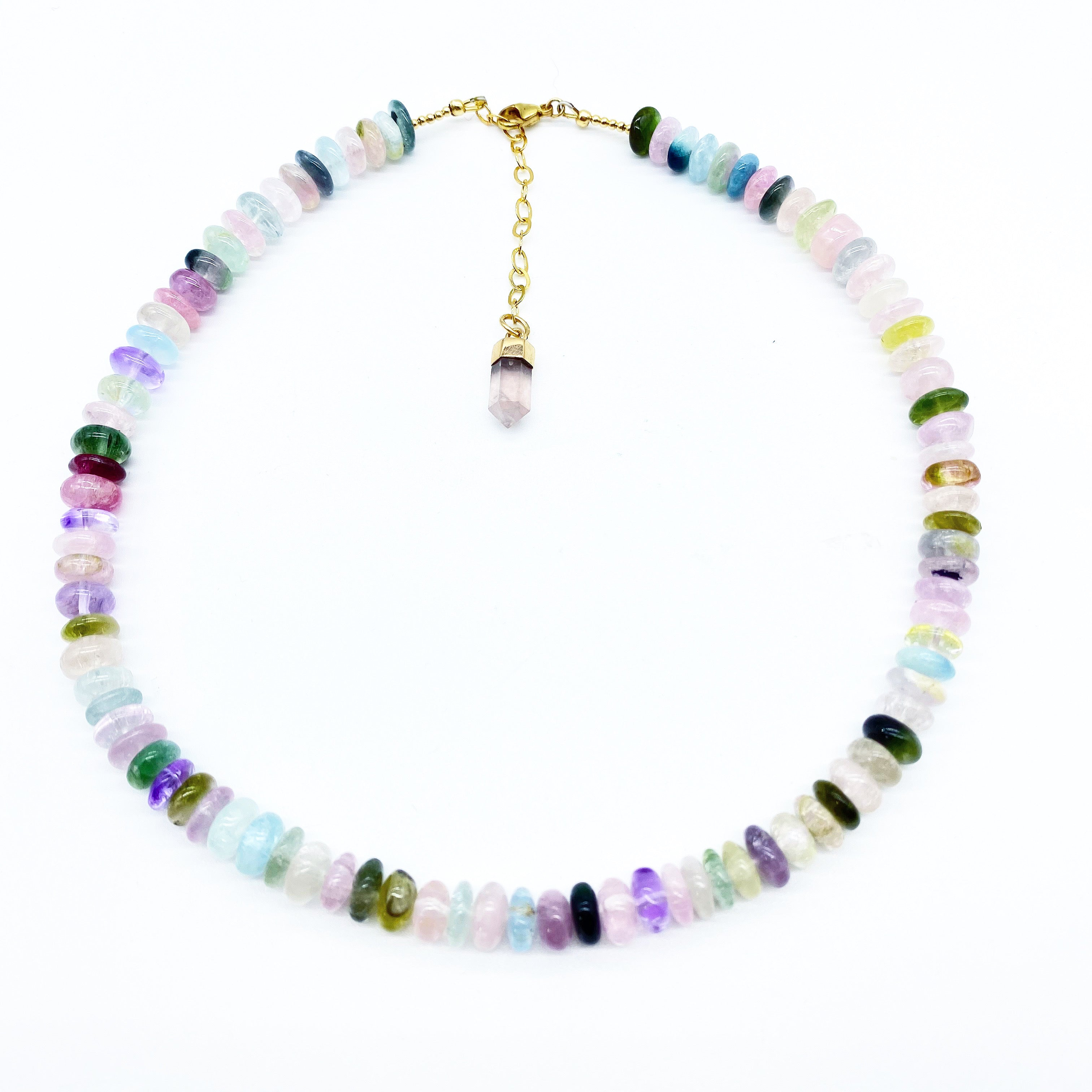 TOURMALINE CRYSTAL NECKLACE