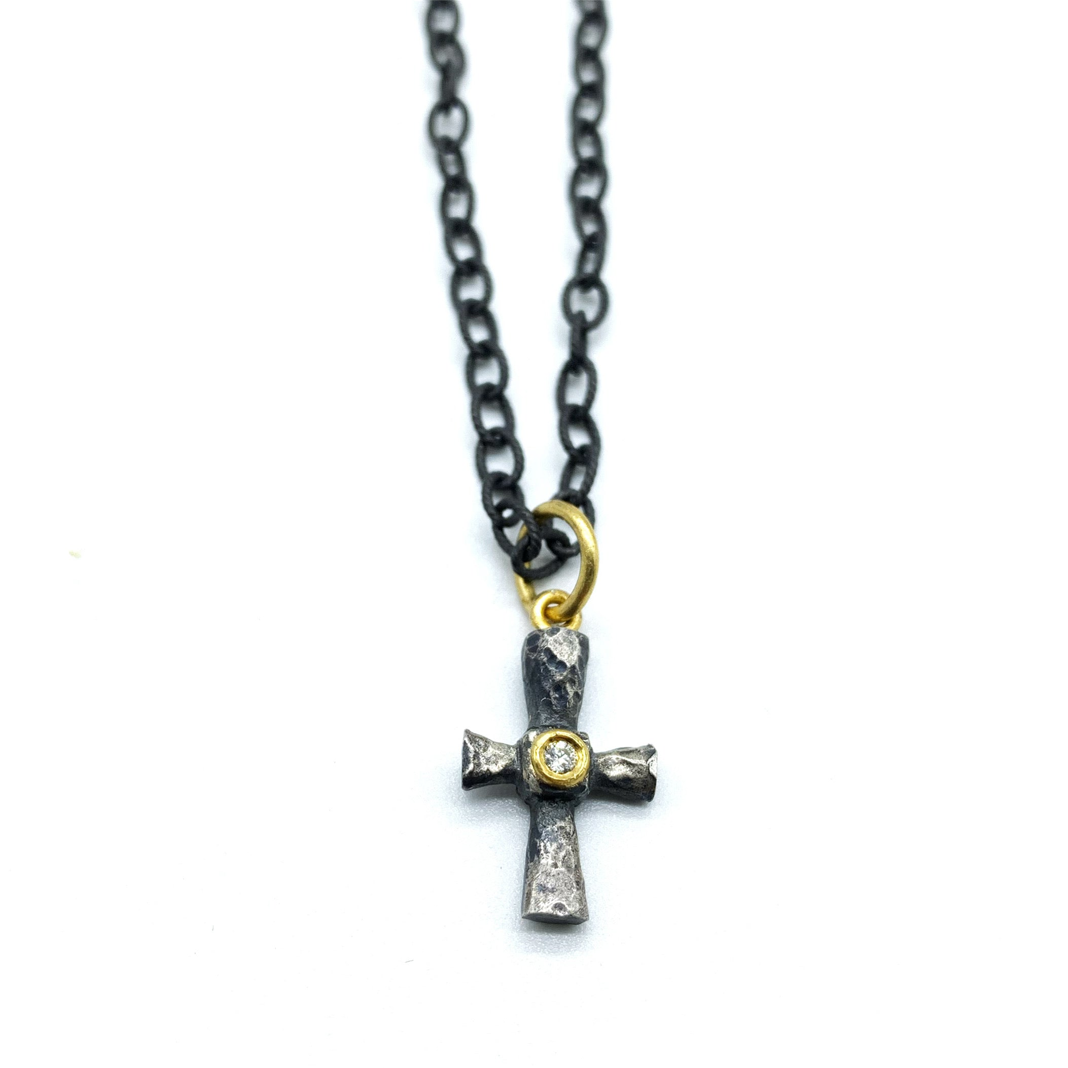 SMALL CROSS AMULET