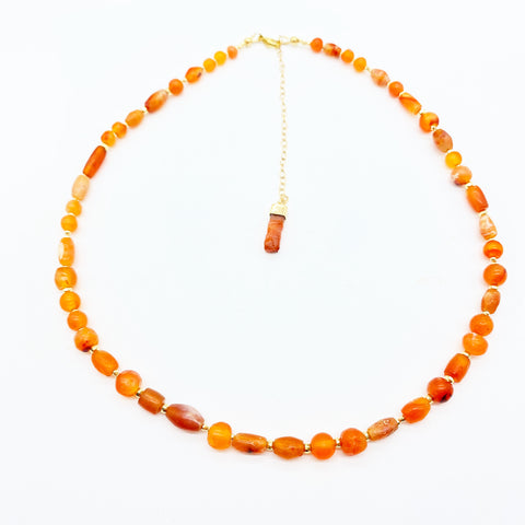 CARNELIAN ANTIQUITY NECKLACES