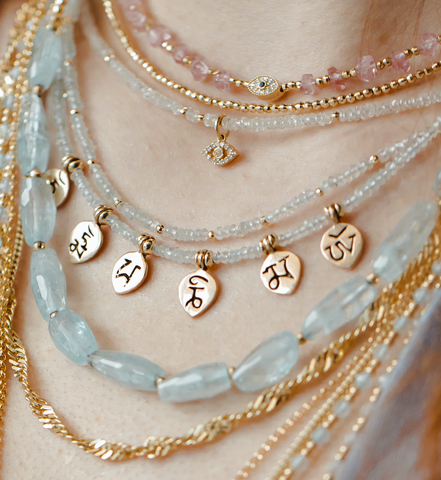 OM MANI PADME HUM MANTRA NECKLACE