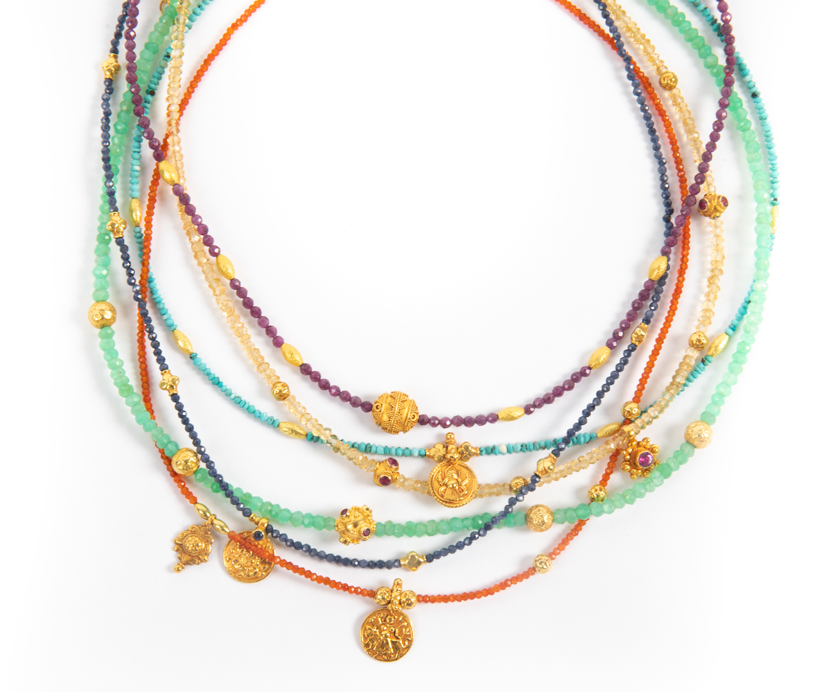 CHAKRA GEMSTONE NECKLACES