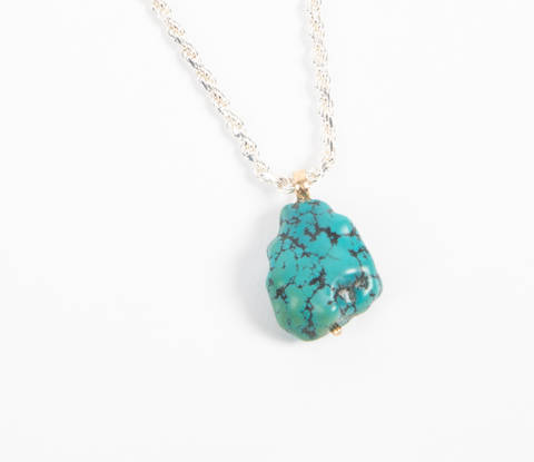 TIBEAN TURQUOISE PROTECTION AMULET