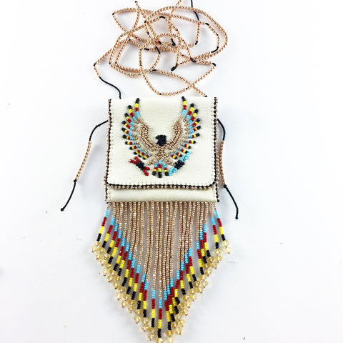THE HAND BEADED MEDICINE BAG