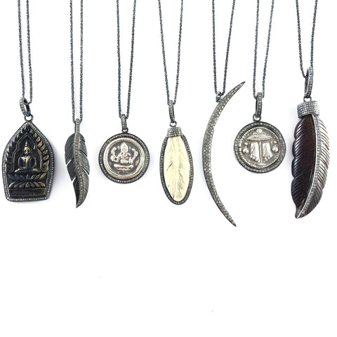 SILVER DIAMOND AMULET COLLECTION LIMITED EDITION