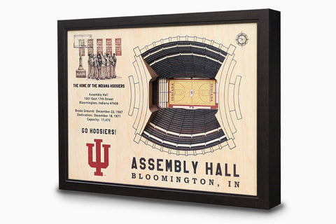 Indiana Hoosiers -  Stadium - 3D Art