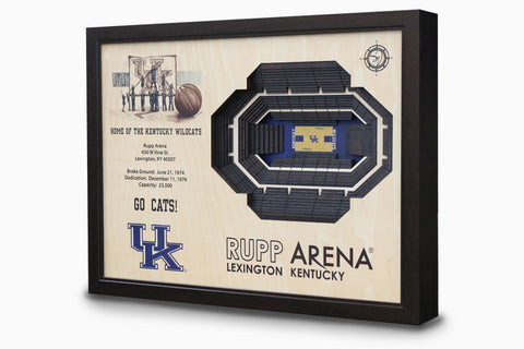 Kentucky Wildcats  -  Stadium - 3D Art