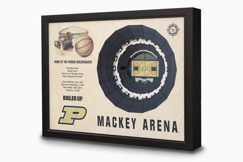 Purdue Boilermakers -  Stadium - 3D Art