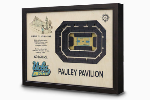 UCLA Bruins -  Stadium - 3D Art