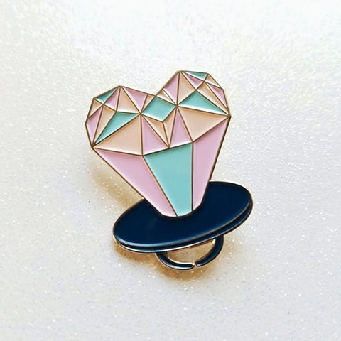 Ring Pop Enamel Pin