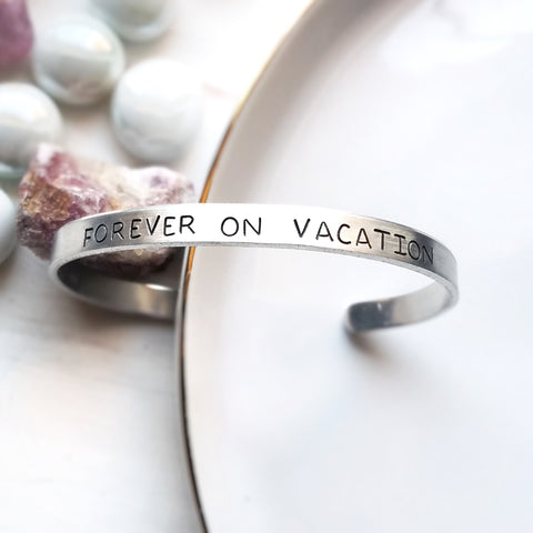 Forever on Vacation bracelet