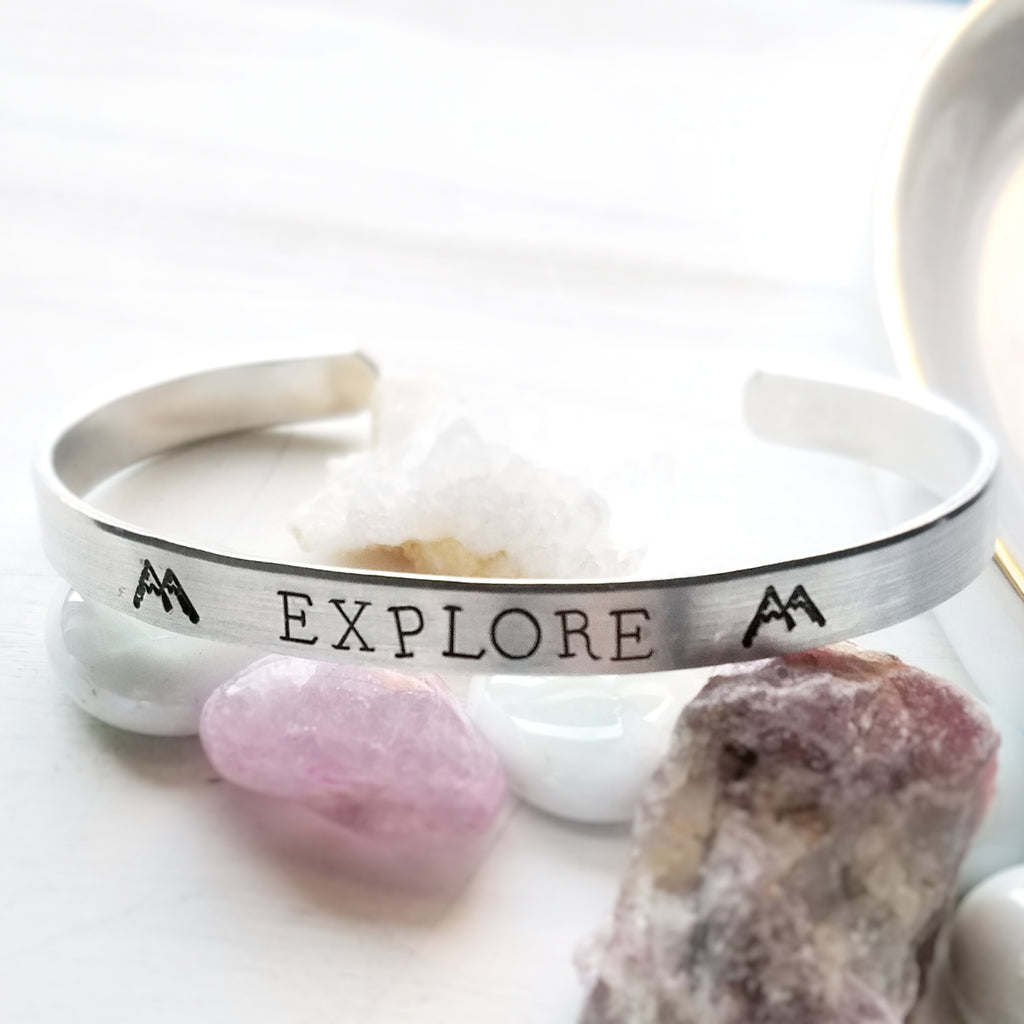 Explore Mountain bracelet