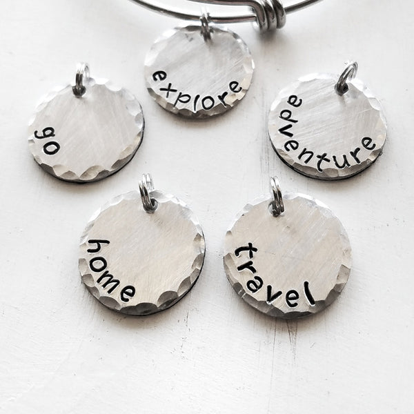 Travel Word Charms