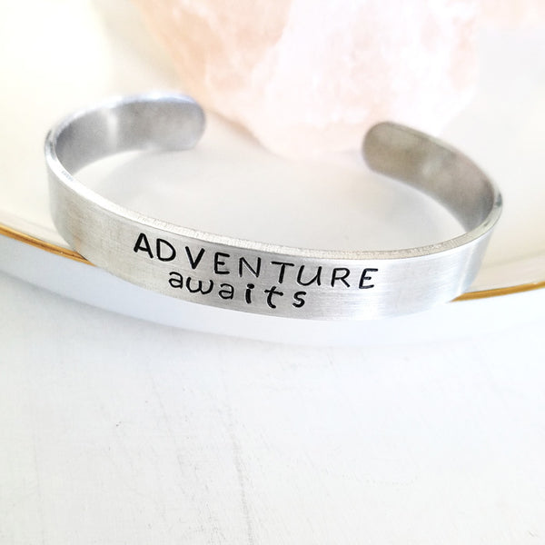 Adventure Awaits bracelet