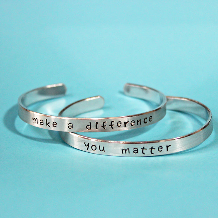 Difference or Matter Bracelet