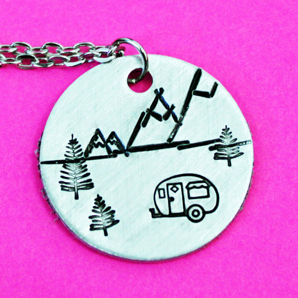 Mountain Camper Necklace