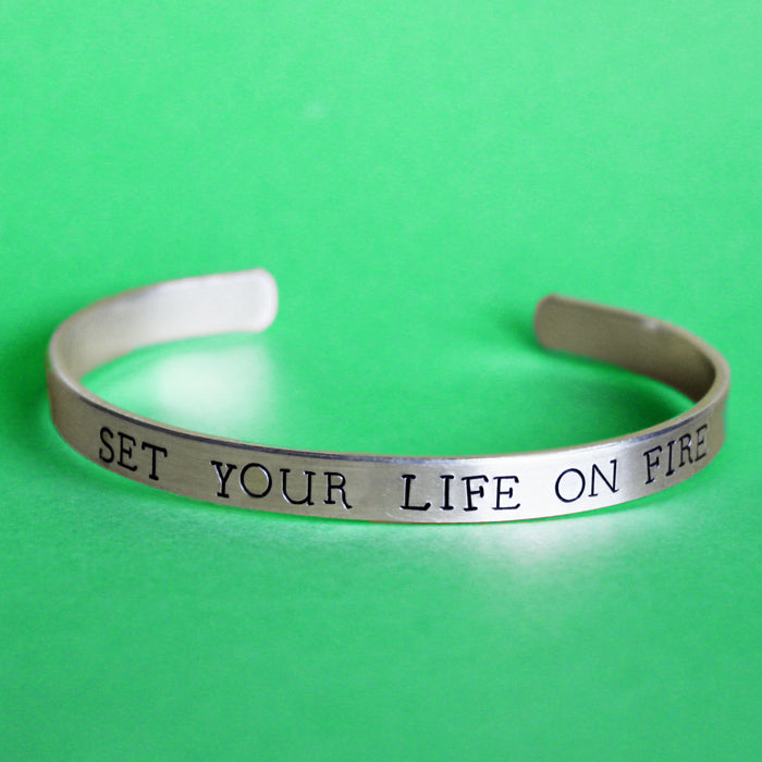 Set Your Life On Fire bracelet