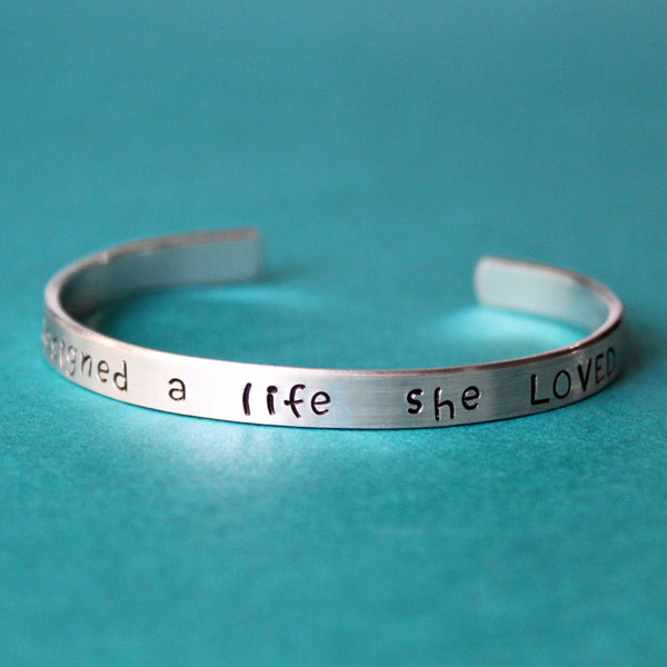 She Designed a Life she Loved Bracelet