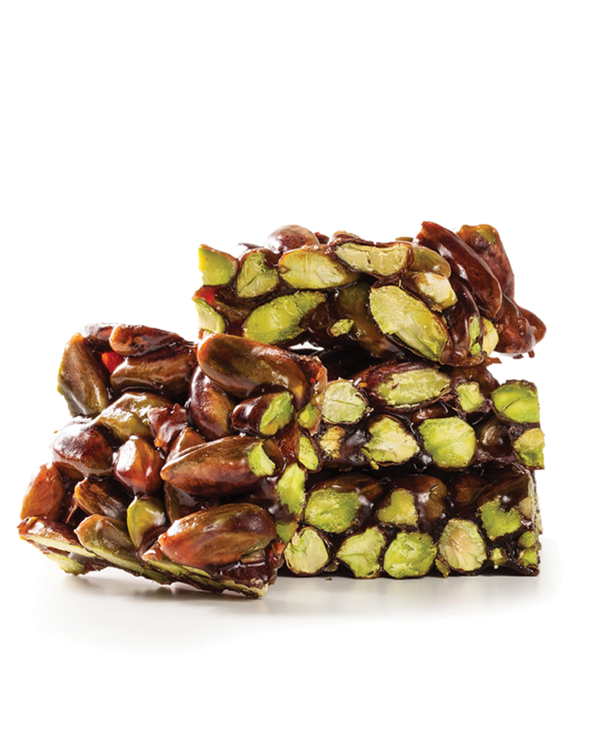 Pistachios with honey