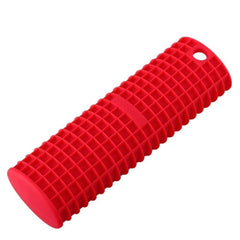 Silicone Cast Iron Skillet Handle Cover, Red