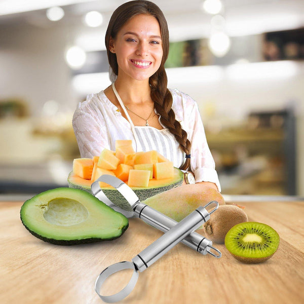 Orblue Melon Fruit Peeler 2-pack