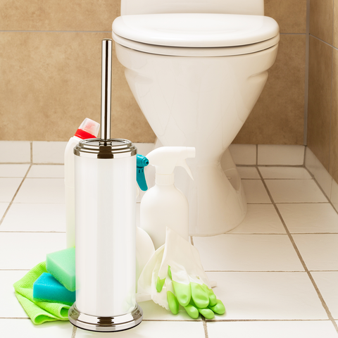 Orblue Toilet Brush with Holder