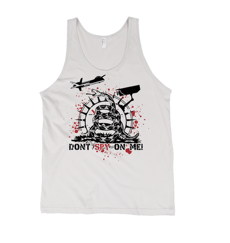 Don't Spy On Me NSA Men's Tank