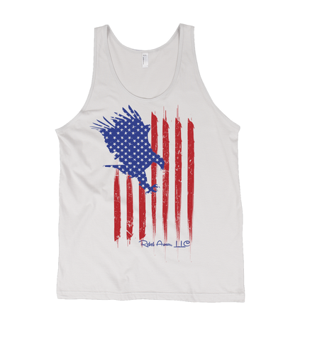 Eagle American Flag Patriotic Men's Tank