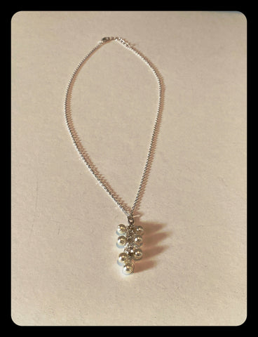 Pearls and Rhinestone Necklace
