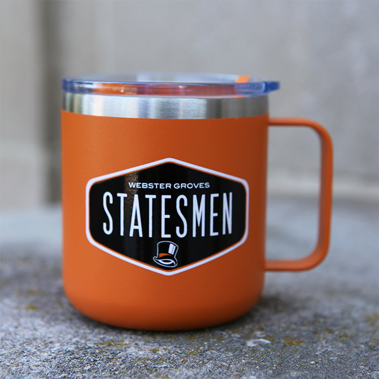 Acc. - Camper Mug (12 oz Stainless Orange Mug)
