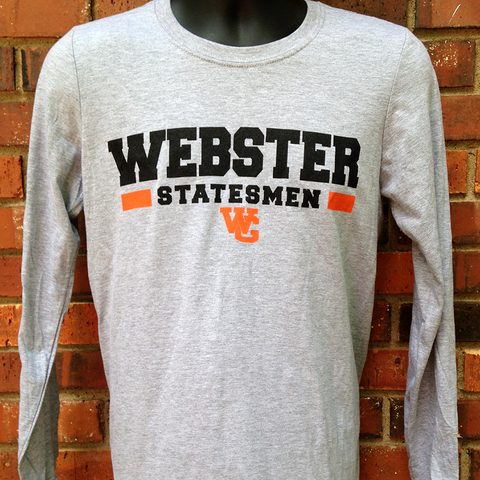 Grey Webster Statesmen Long Sleeve T-Shirt