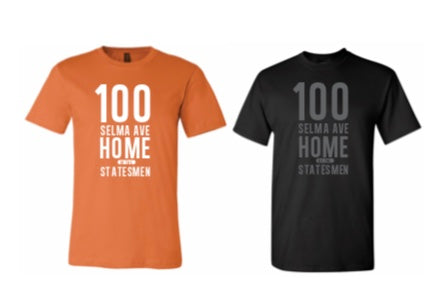 Short Sleeve -  T-Shirt - 100 Selma (Orange & Black)
