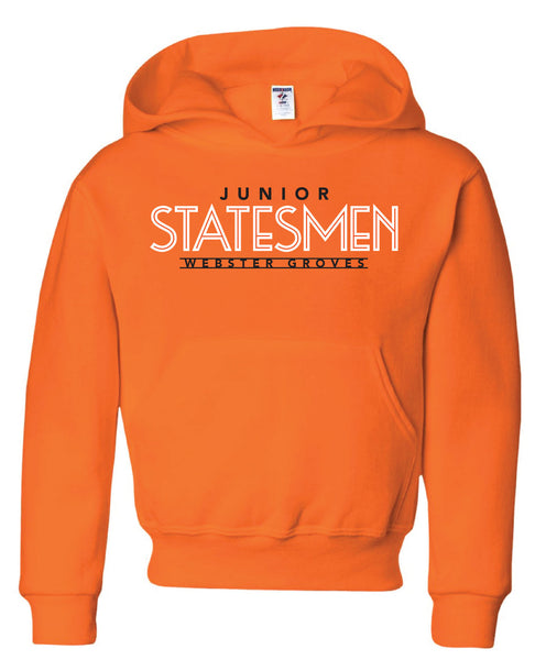 2020 Jr. Statesmen BLACK (NOT Orange) Hoodie (FOR DELIVERY we need your student's Name and Hixson Team in comments)