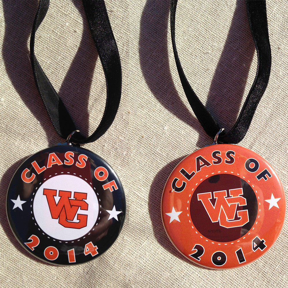 "WGHS ""Class of"" Christmas Ornament"