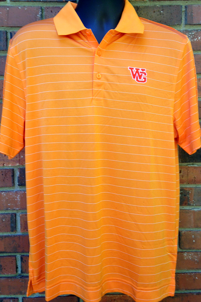 WG Men's DryTec Franklin Stripe Polo Shirt