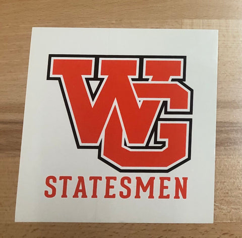 Acc. - Decal Statesmen SQUARE